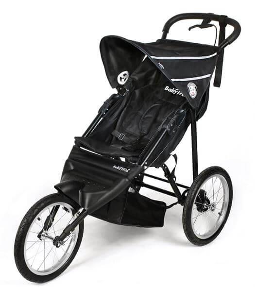 Jogger-sort-Babytrold